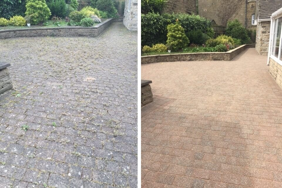 Driveway cleaning service west yorkshire resin driveways for Driveway cleaning companies